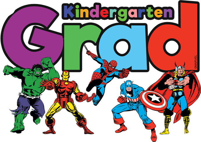 Kindergartengraduation kindergarten kids gra. Graduation clipart superhero