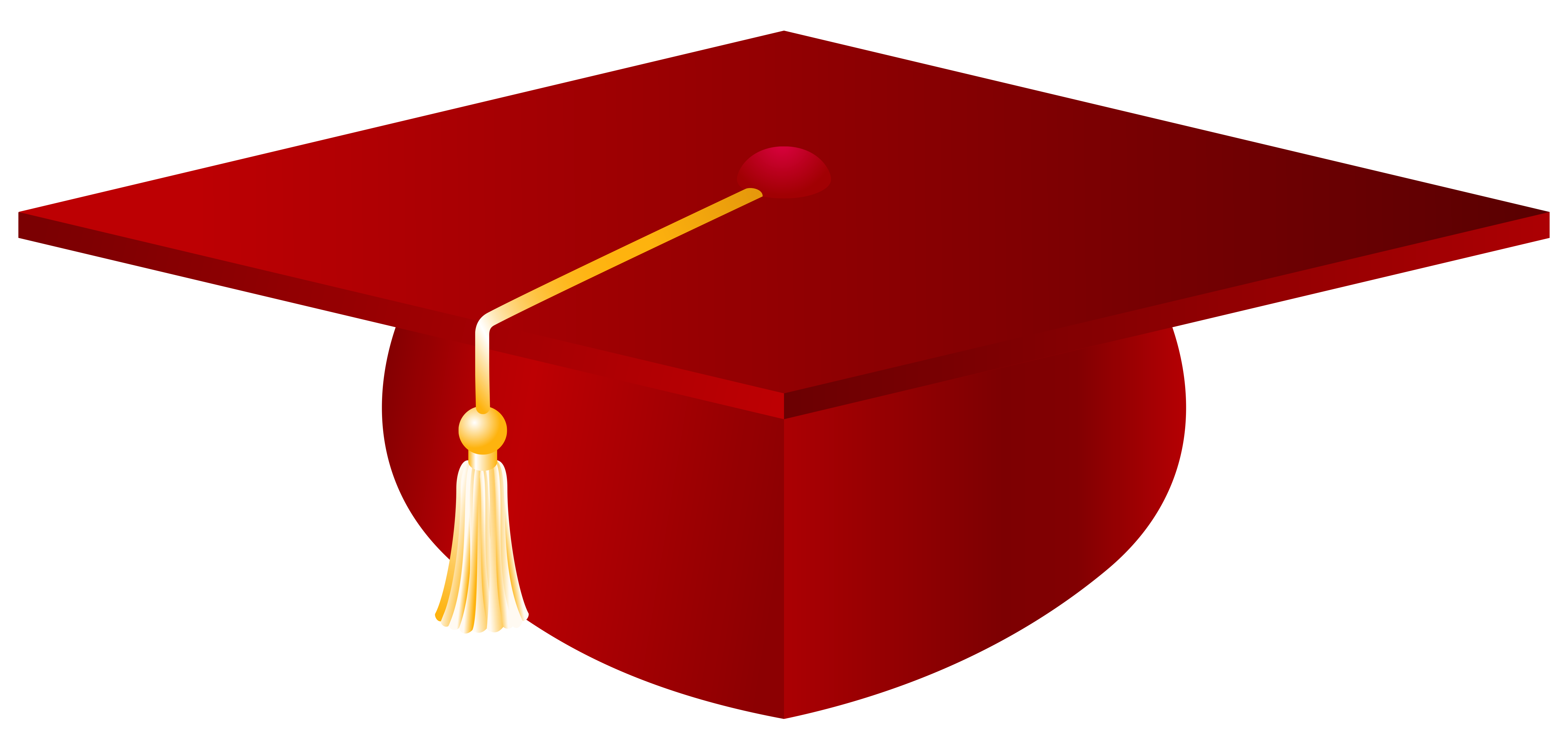 Woman with a hat. Graduation clipart vector