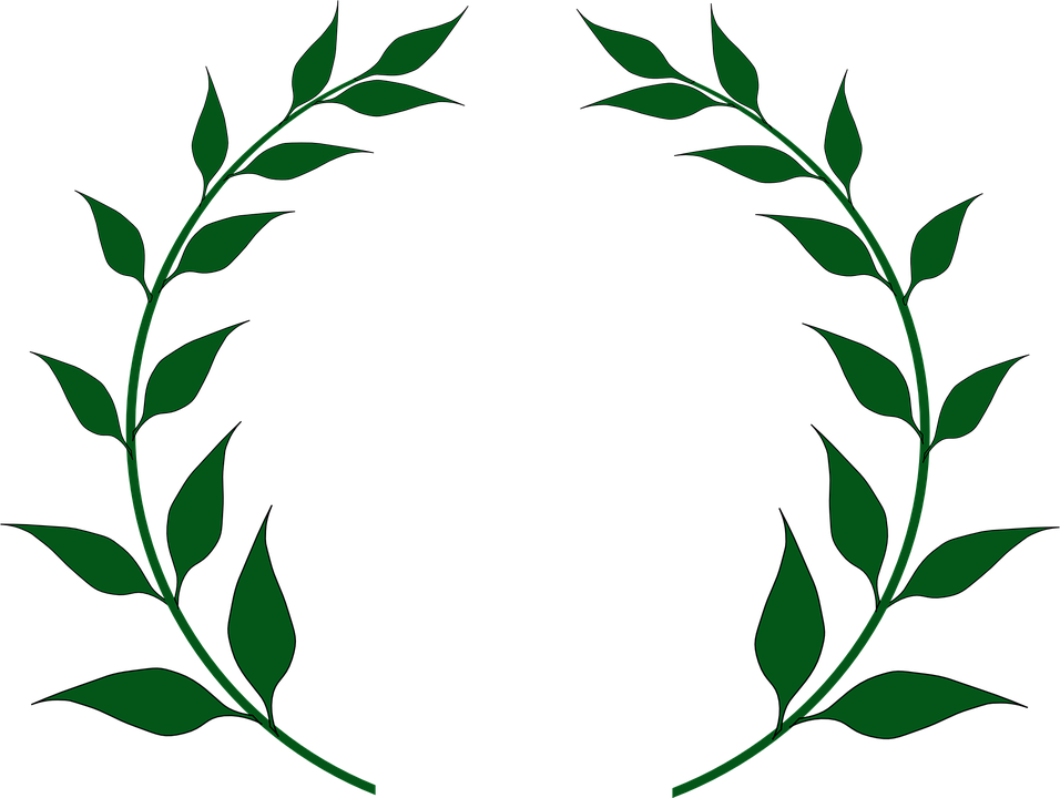 Free image on pixabay. Laurel clipart doodle
