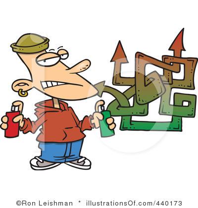 . Graffiti clipart
