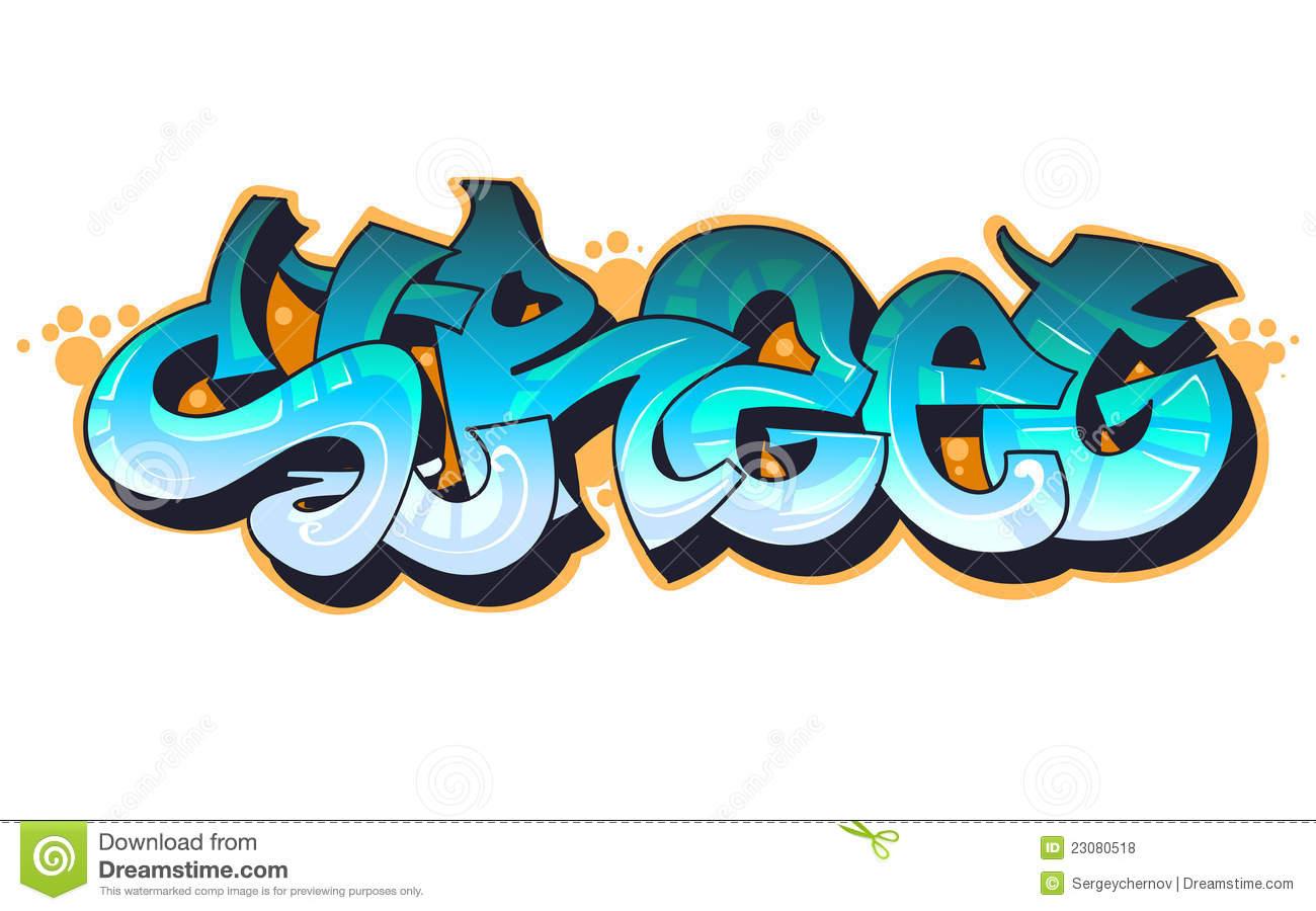 graffiti clipart
