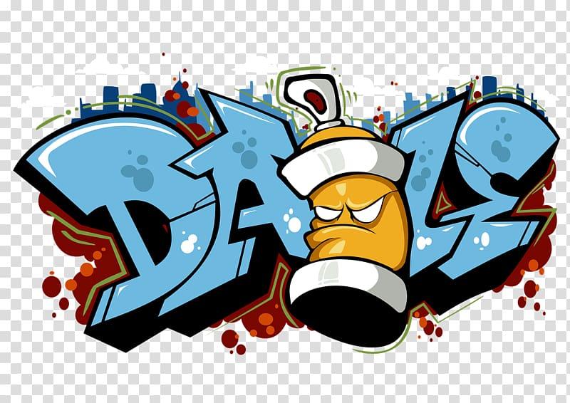 graffiti clipart blue