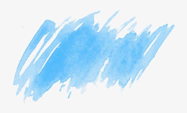 Watercolor inkjet png . Graffiti clipart blue