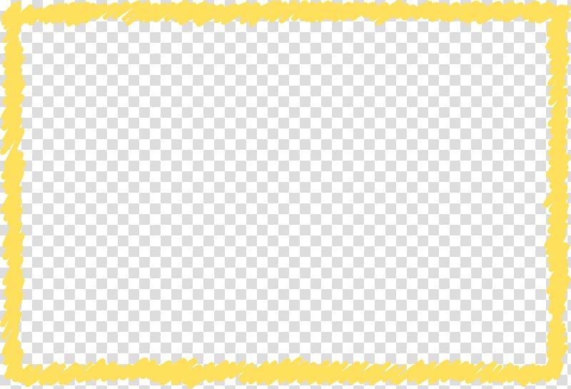 Graffiti clipart border. Yellow frame transparent