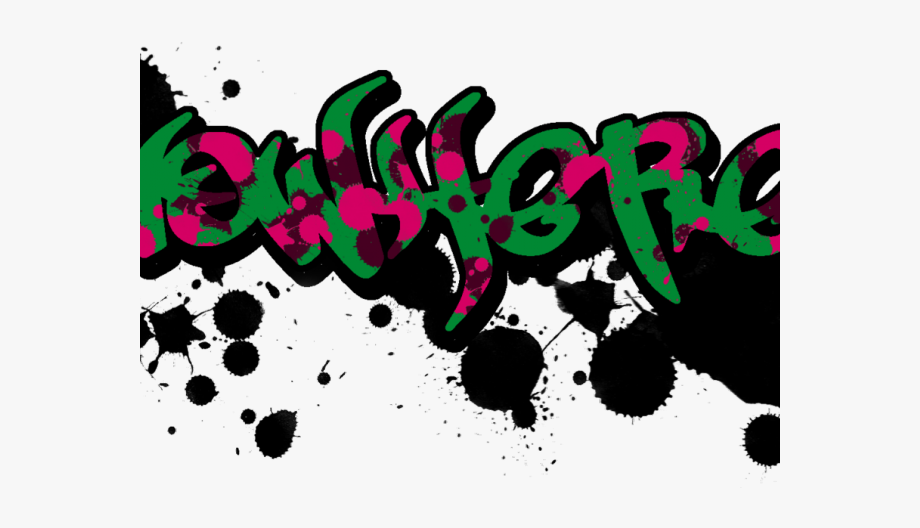 Text png . Graffiti clipart clear background