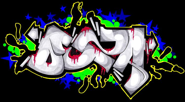 Art design alphabet. Graffiti clipart cool graffito