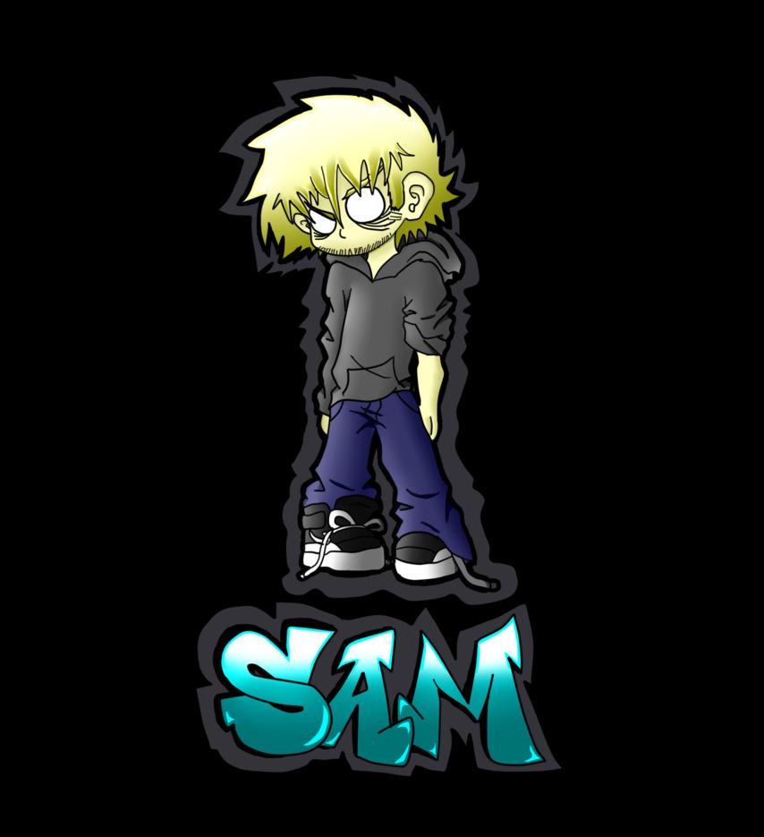 Sam by dragon radiation. Graffiti clipart cool graffito