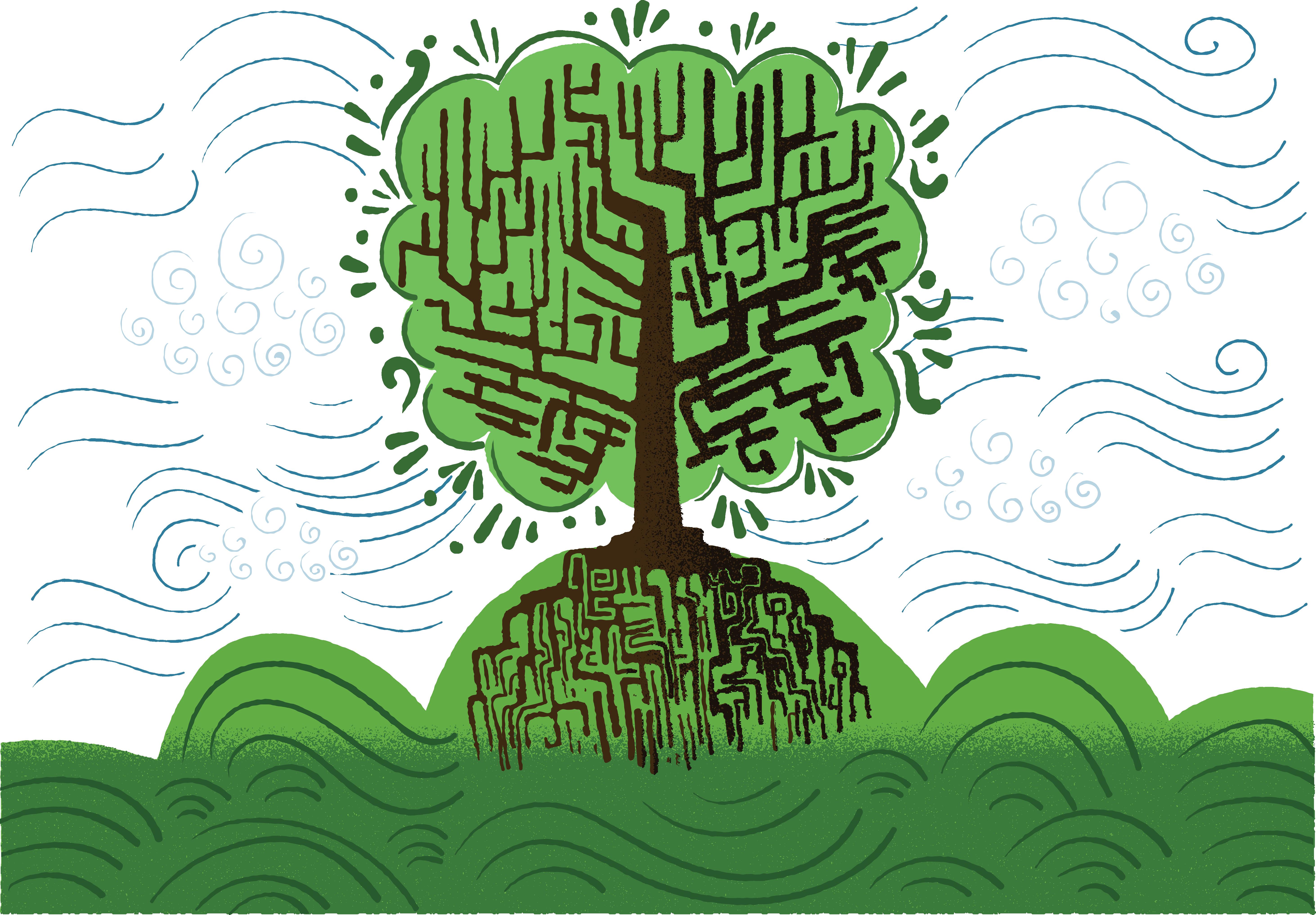 Graffiti clipart crown. Tree euclidean vector