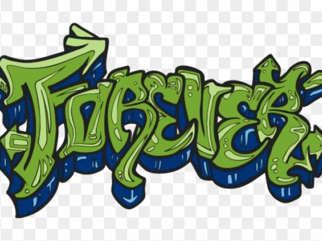 Free download clip art. Graffiti clipart forever