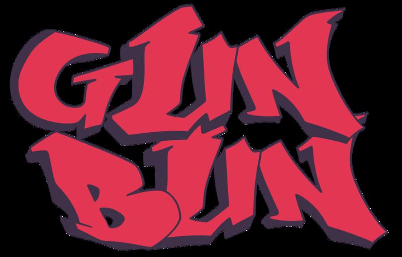 Graffiti clipart gun. Bun logo prop gunbun