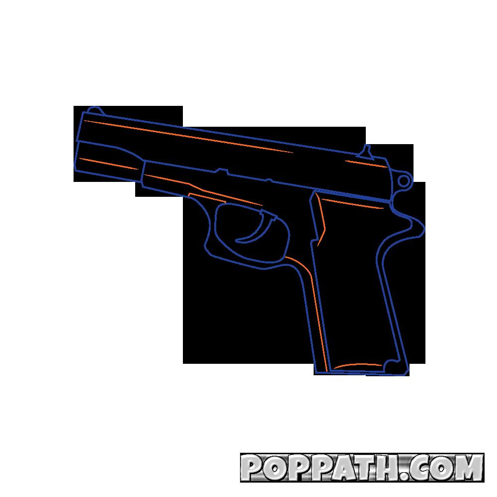 How to draw a. Graffiti clipart gun