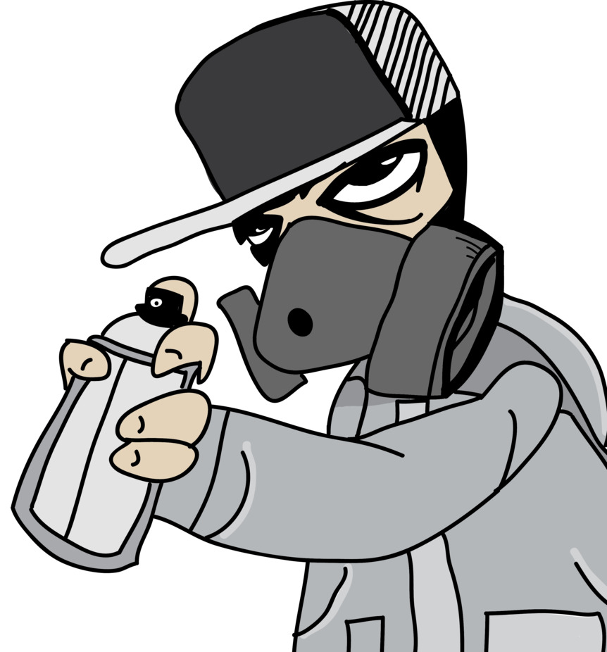 Graffiti clipart gun. Tony quiet with a