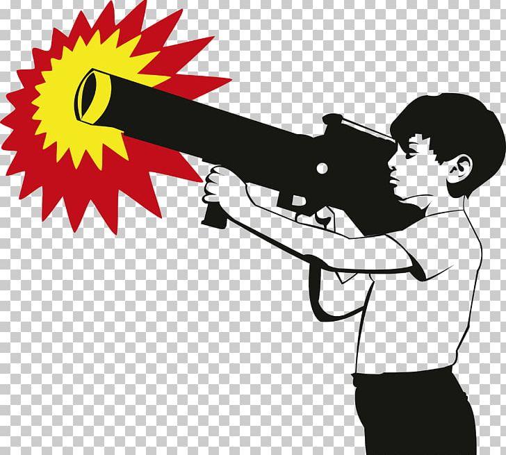Pop art stencil png. Graffiti clipart gun