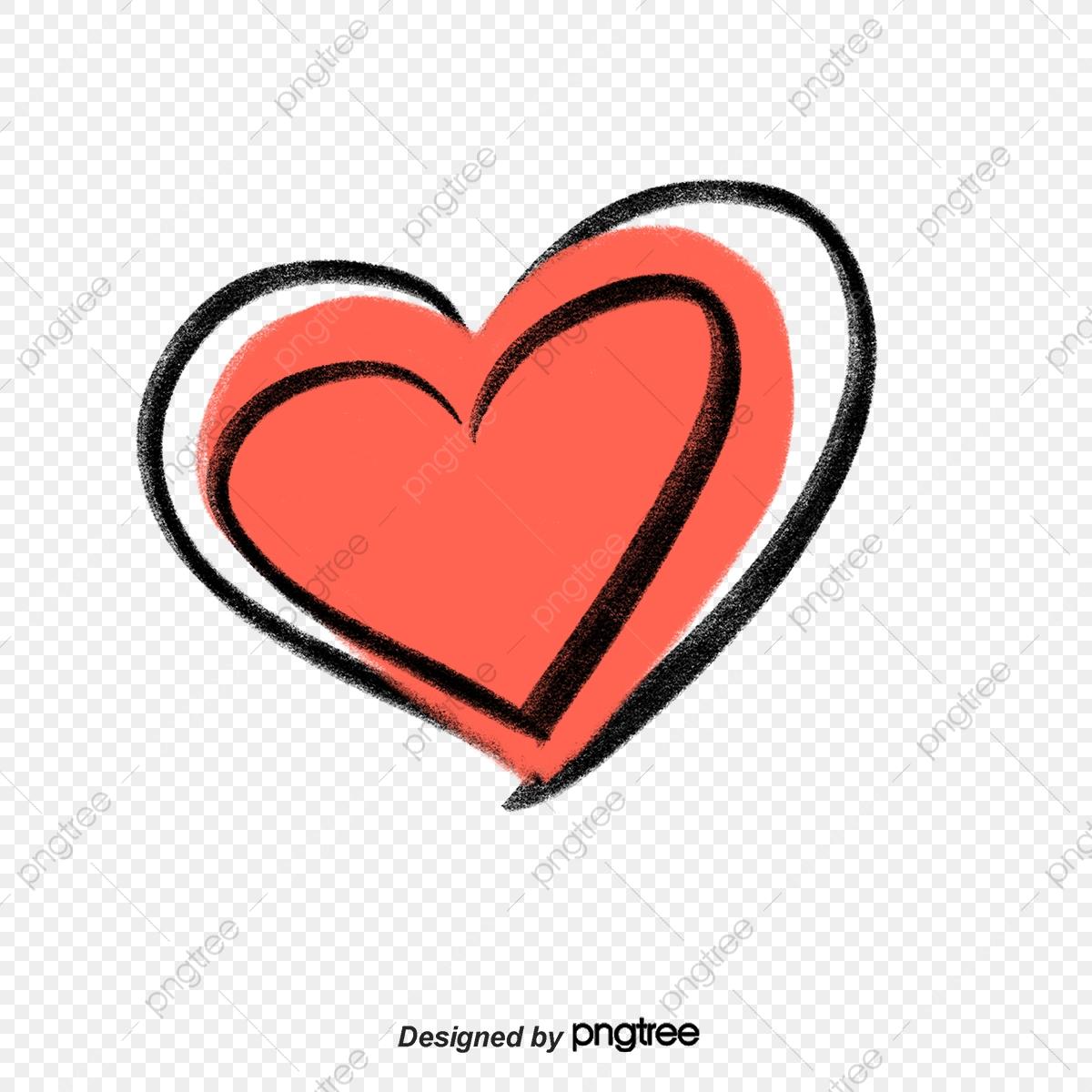 Style love element illustration. Graffiti clipart heart