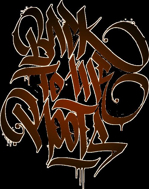 Graffiti clipart hip hop. Backtotheroots quote hiphop