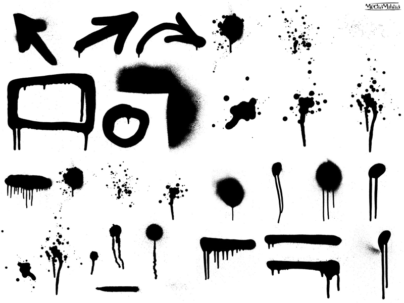 Drips and clip arts. Graffiti clipart spray paint drip