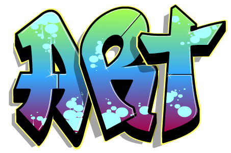 Graffiti clipart word. Cool site create your
