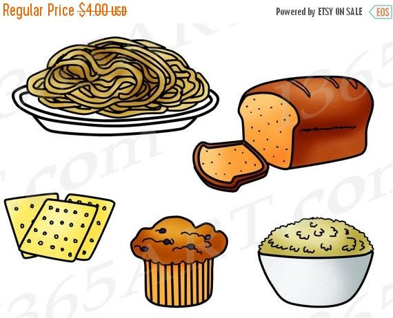 Clip art food groups. Grains clipart