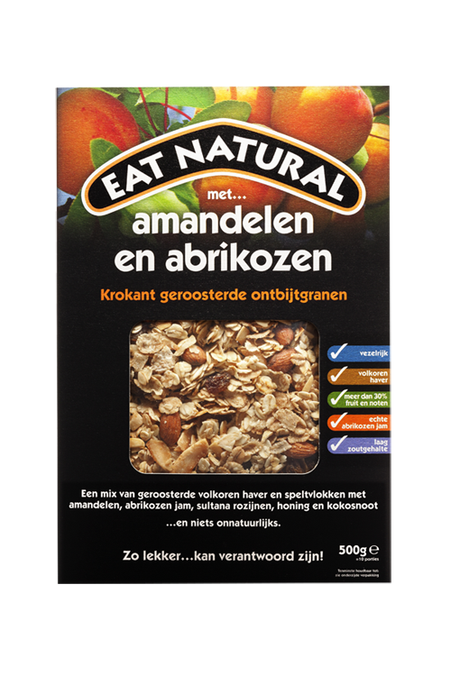 Almonds and apricot lemar. Grain clipart breakfast cereal