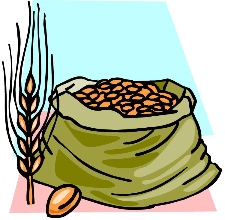 Grains clipart grain bag. Whole free download best