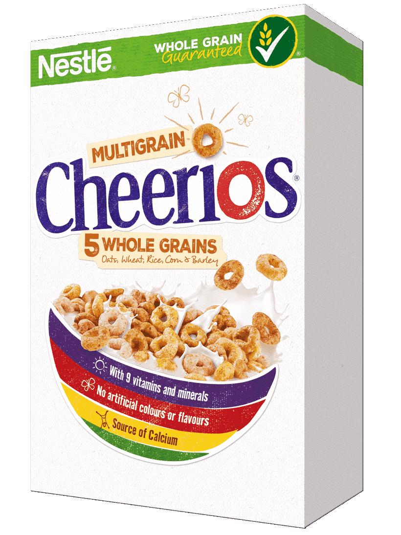 Cheerios multigrain wholesome cereal. Grain clipart ceral