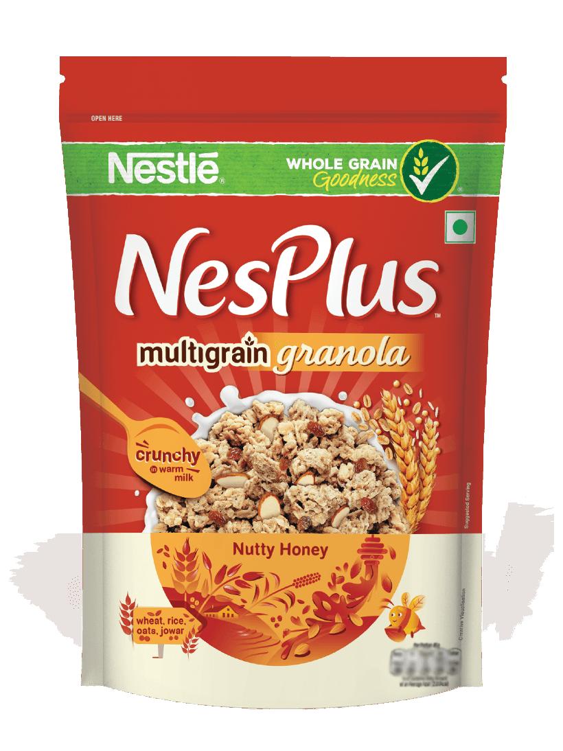 Grain clipart cereal grain. Multigrain granola nutty honey