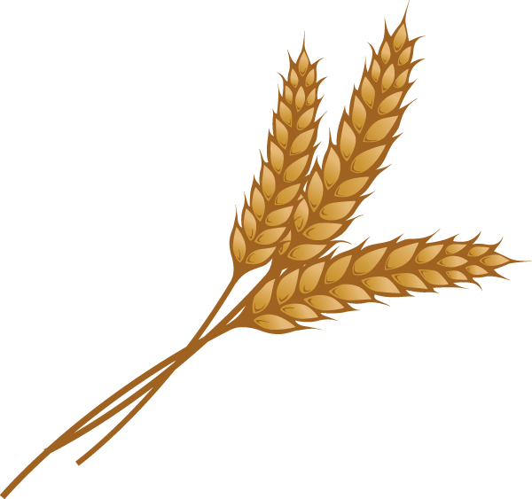 Wheat clipart curved. At getdrawings com free