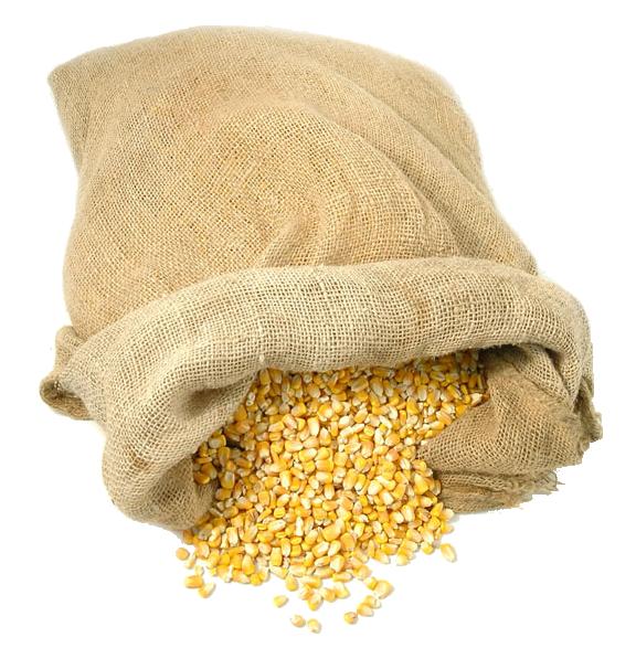 Of maize png image. Grain clipart grain bag