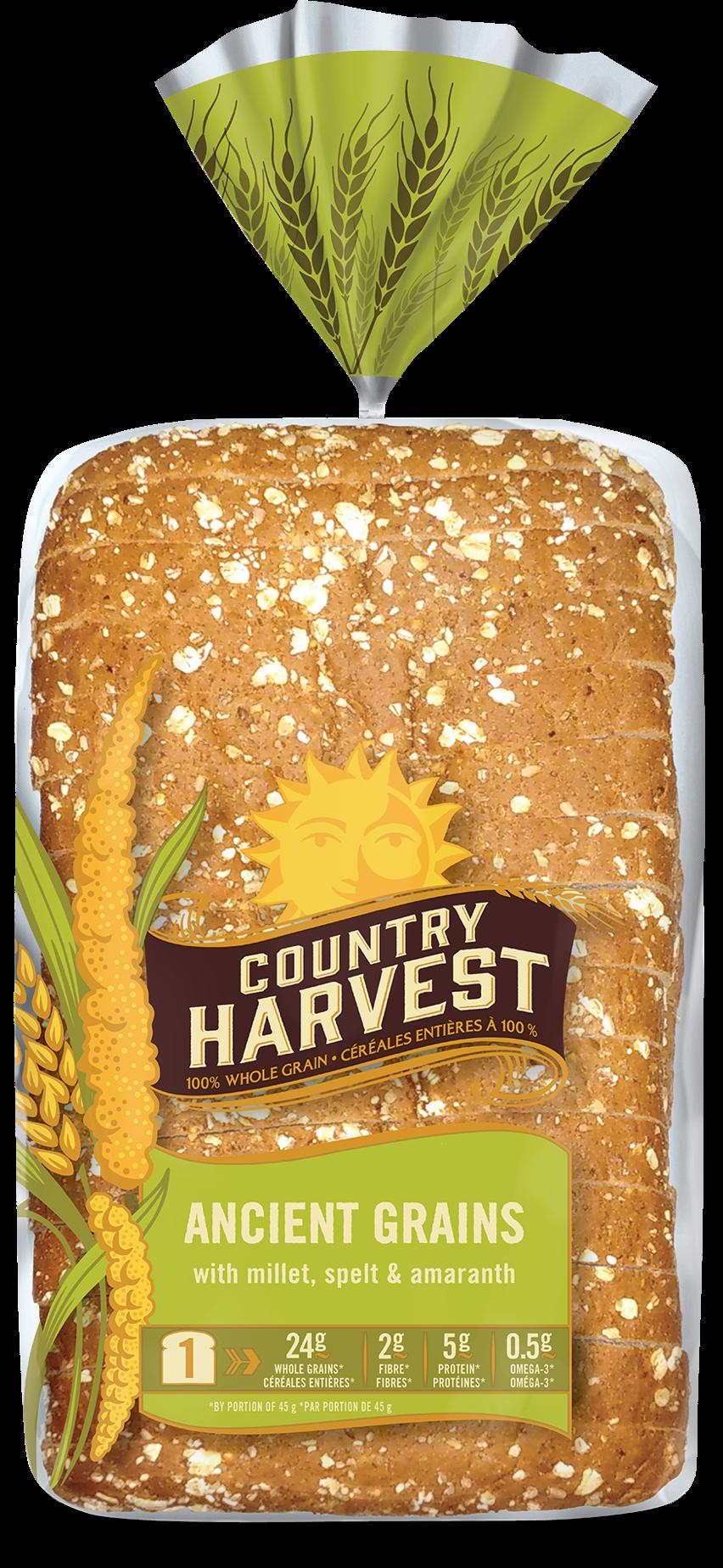 Ancient grains country harvest. Wheat clipart grain bag
