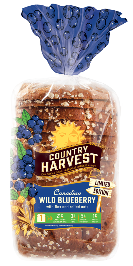 Grain clipart oatmeal. Wild blueberry country harvest