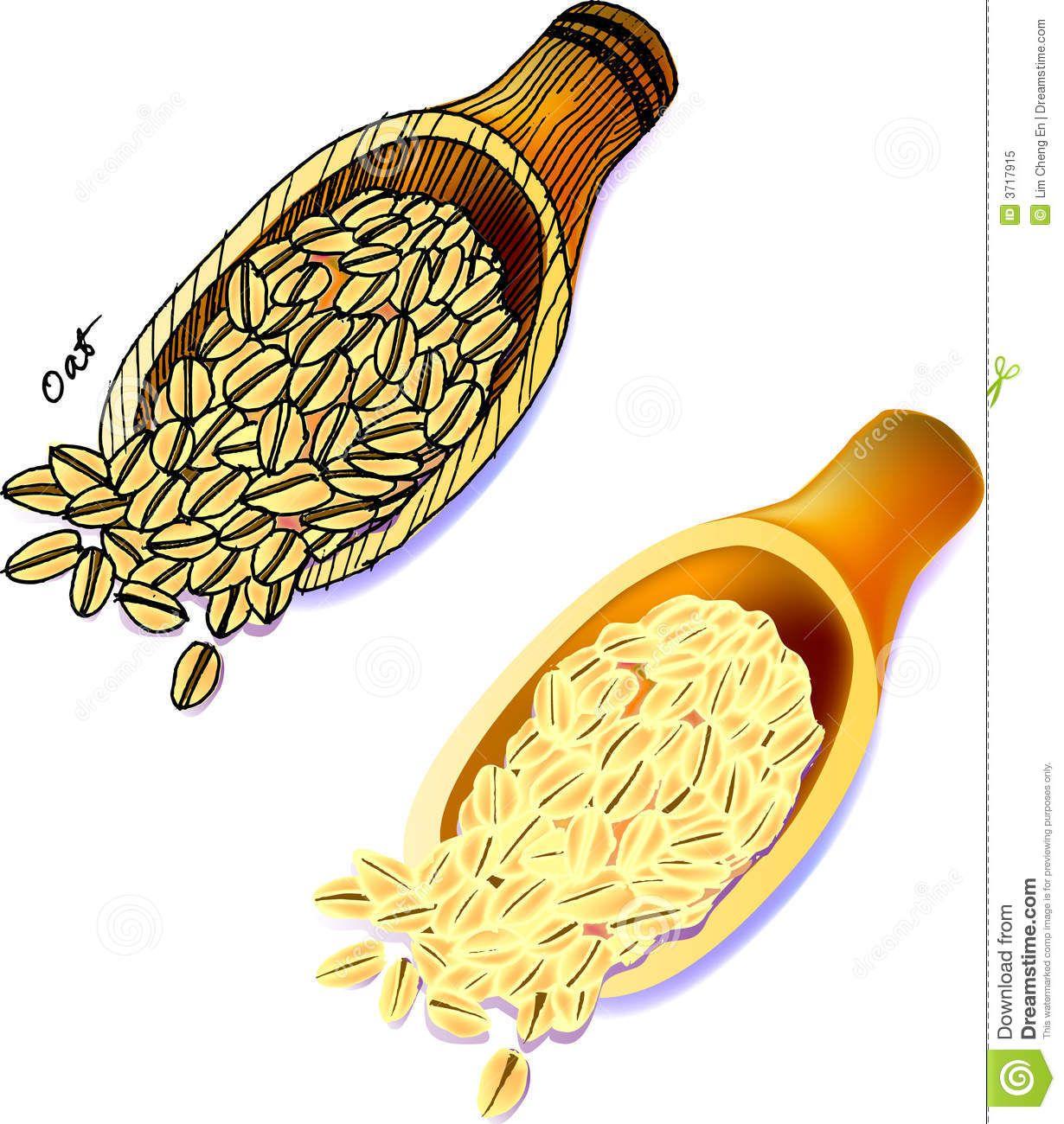 Free download best . Grain clipart oats