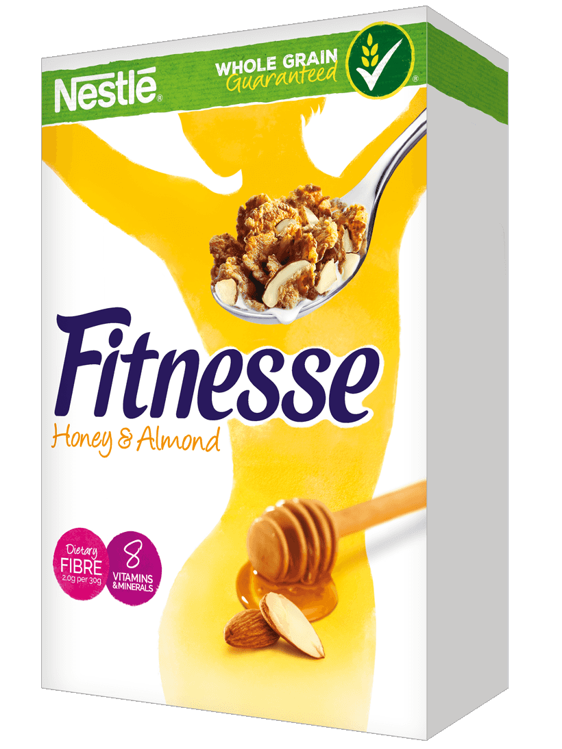 Healthy mornings with fitnesse. Grains clipart breakfast cereal