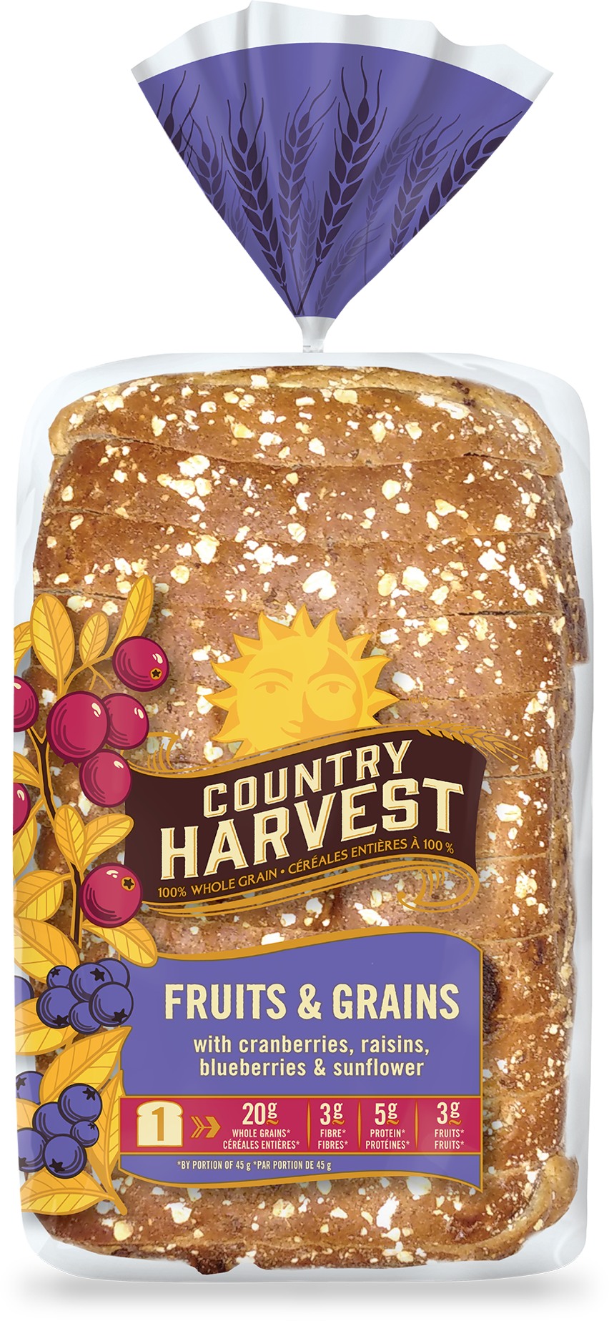 Fruits grains country harvest. Wheat clipart loaf