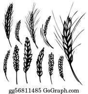 Wheat clipart wheat shock. Clip art royalty free