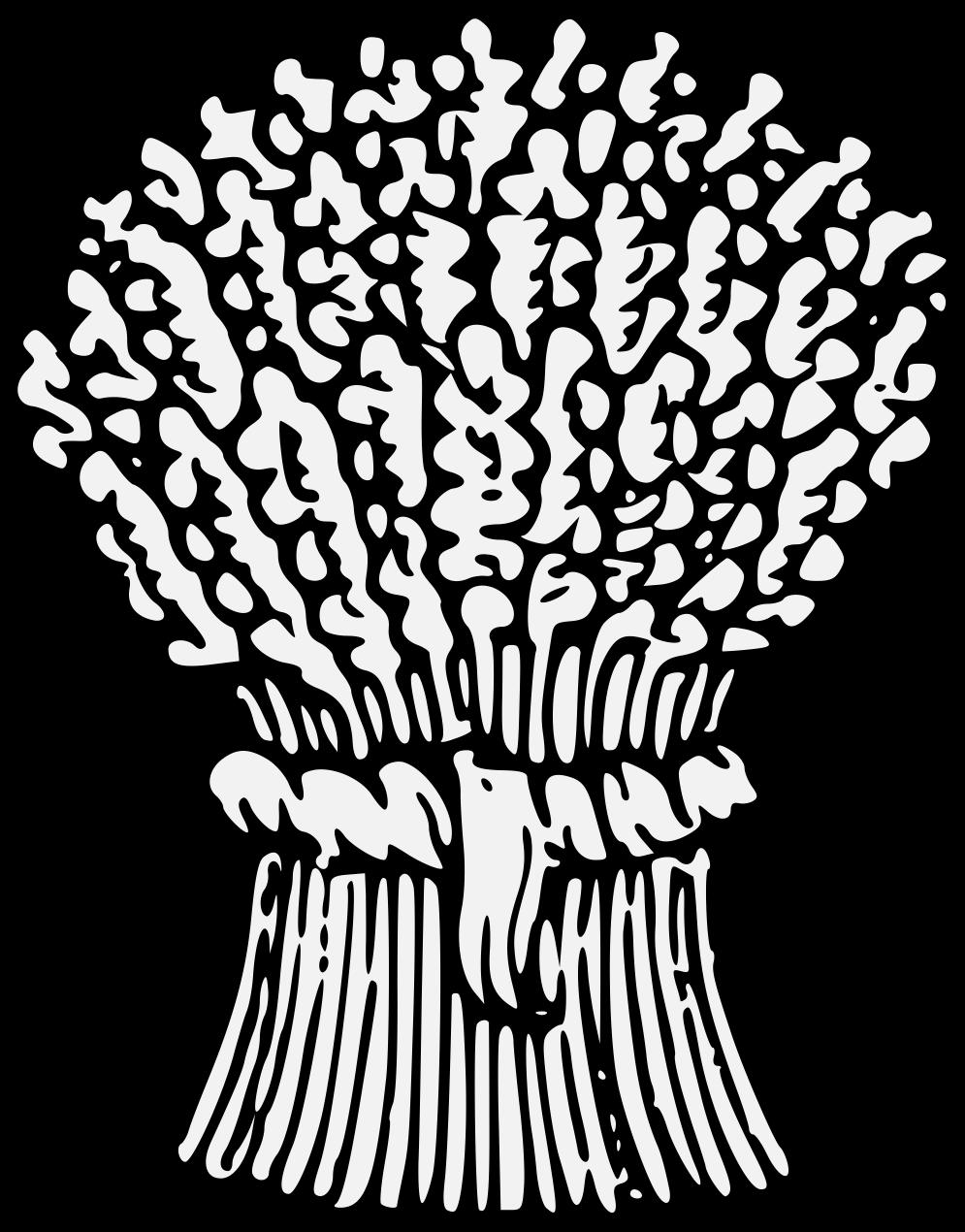 Traceable heraldic art pdf. Grains clipart wheat stem