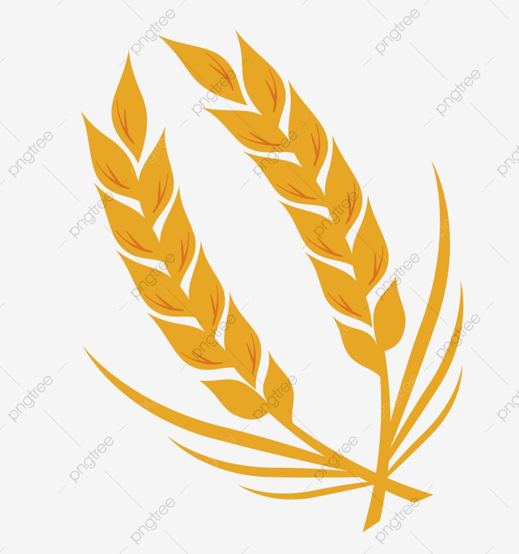 Cross whole grains png. Grain clipart yellow wheat