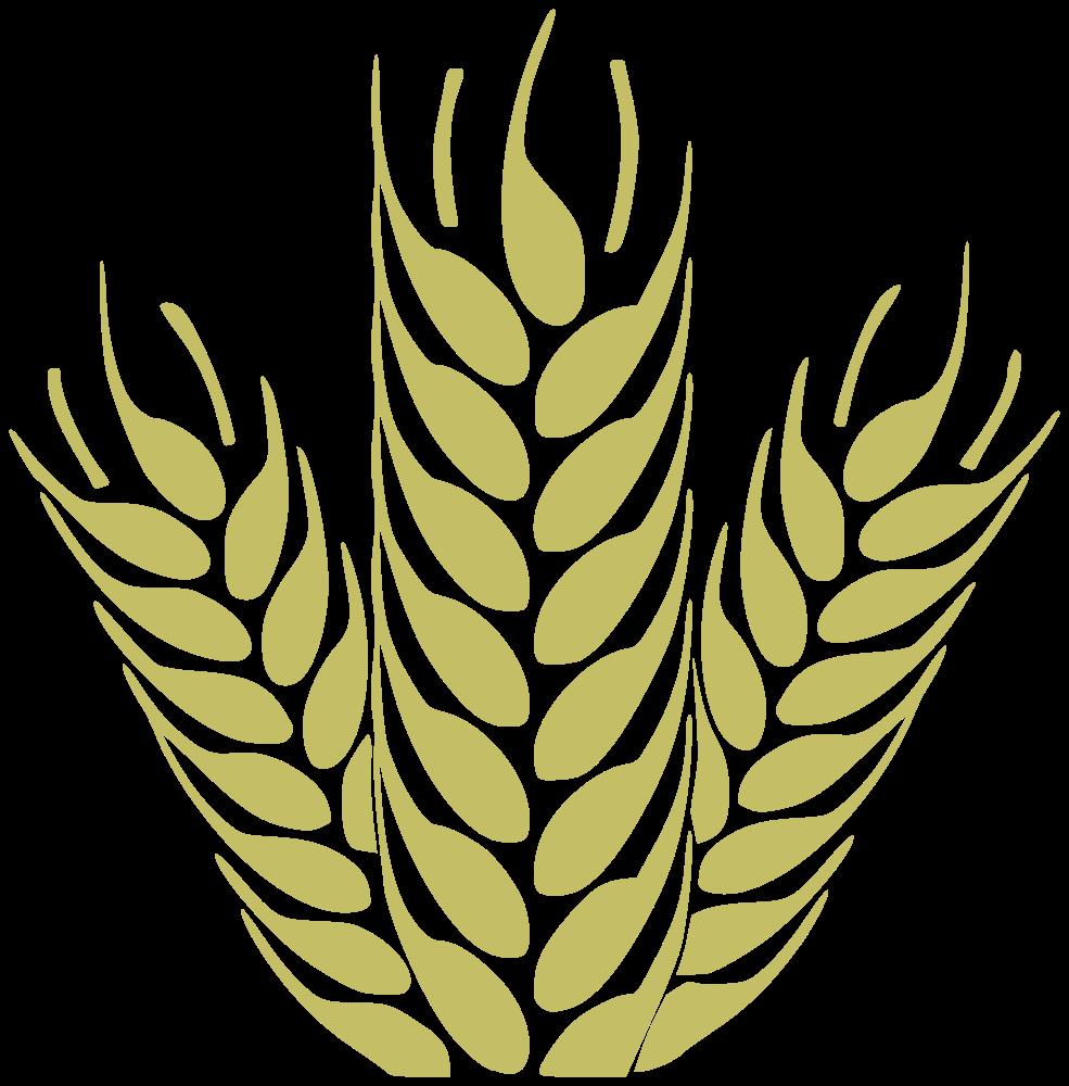 Grain clipart yellow wheat. Onlinelabels clip art trigo