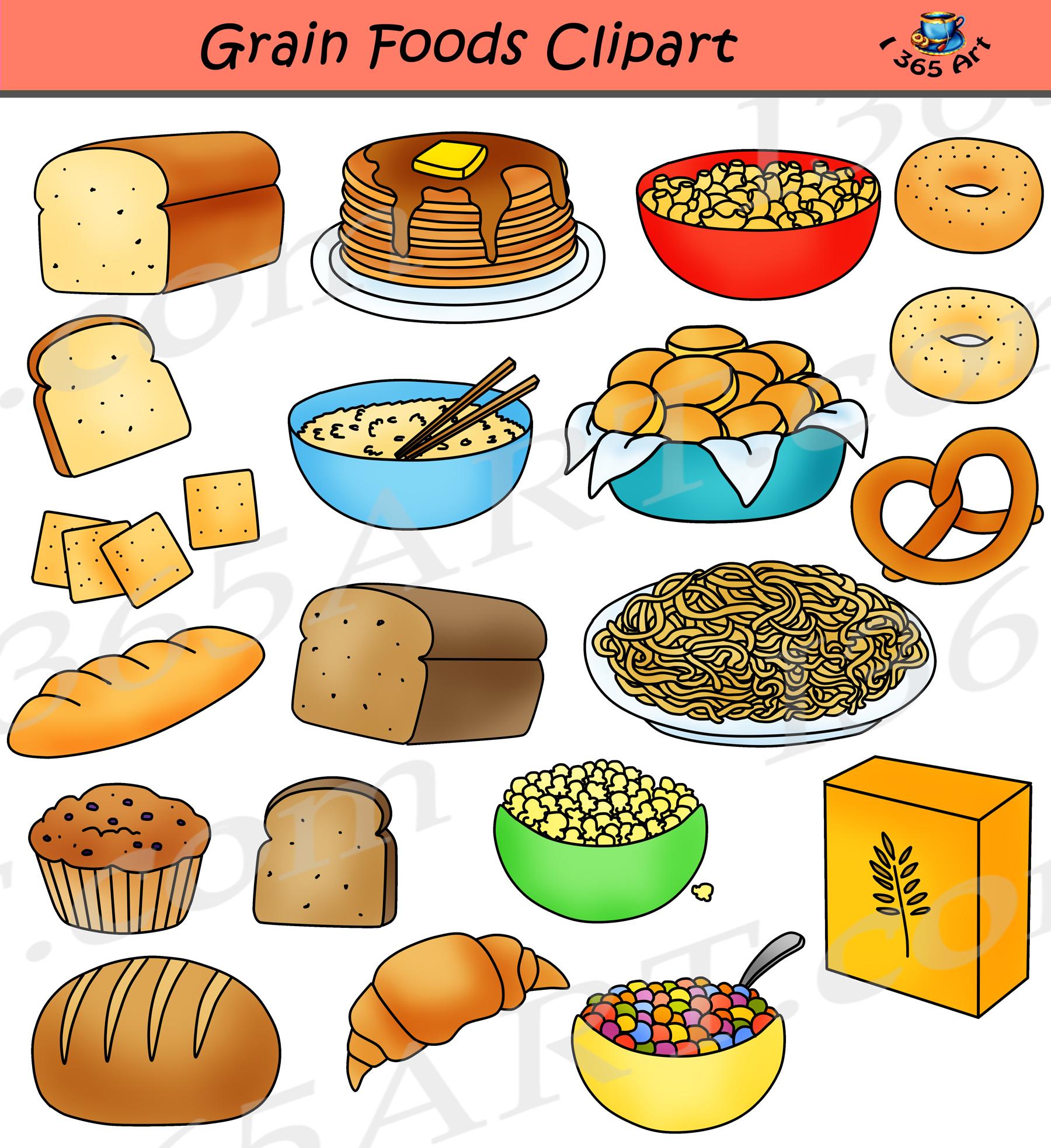 Grain clipart grain product. Grains breads food group