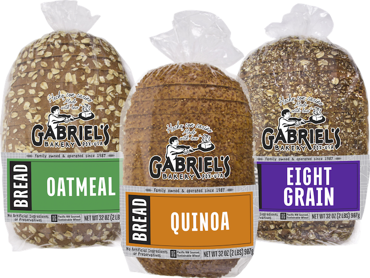 Gabriel s our products. Grains clipart bakery bread