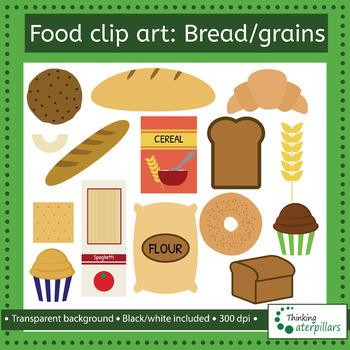 grains clipart bread