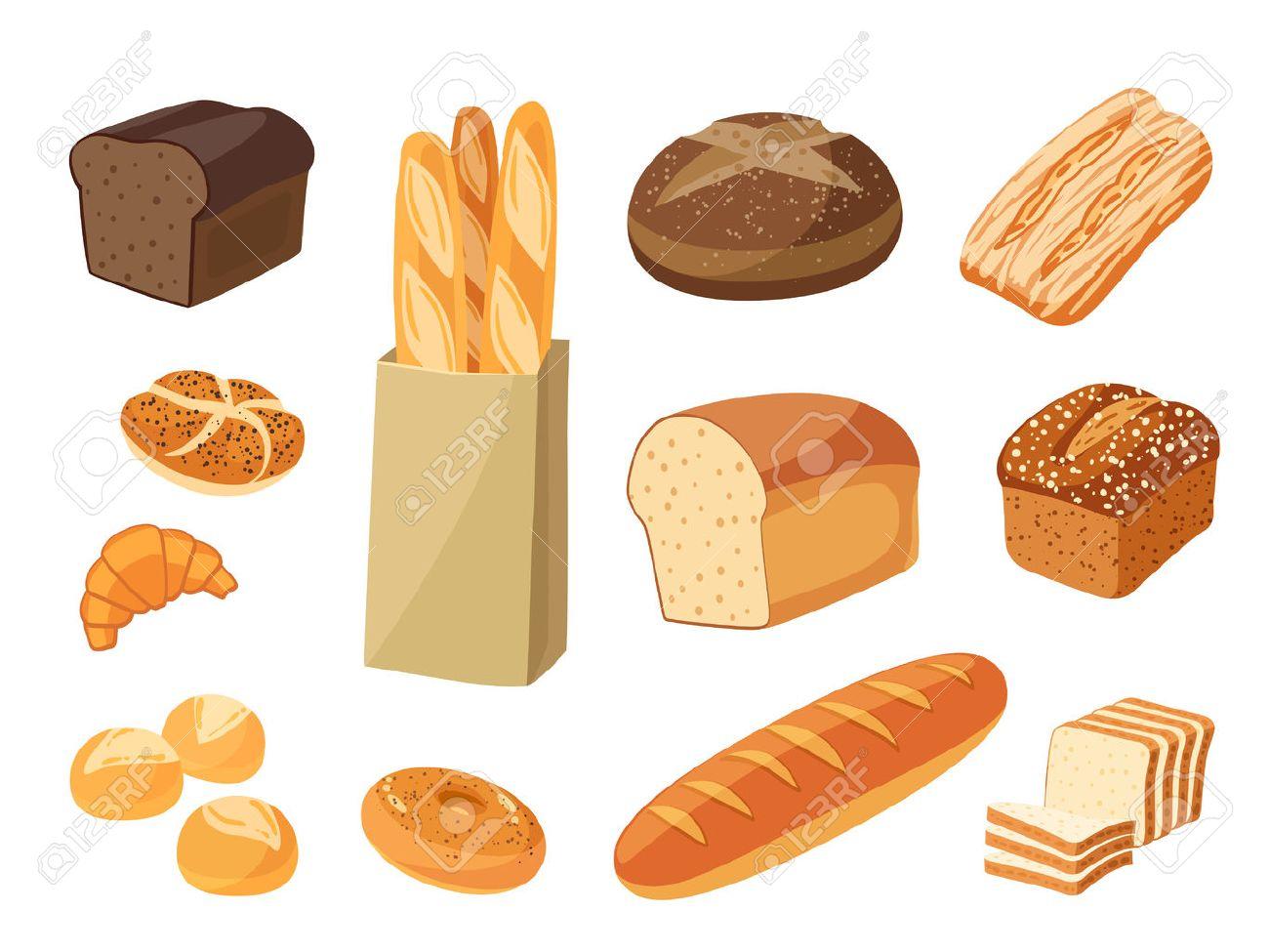 Grains clipart tasty bread. Free download clip art