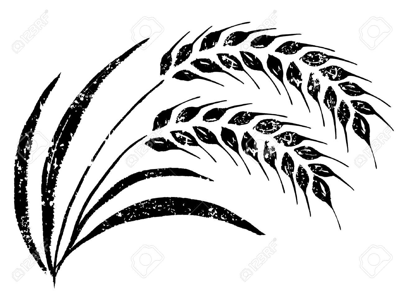 Grains clipart wheat leaves. Free leaf download clip