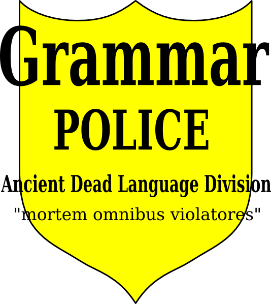 Police latin at clker. Grammar clipart clip art