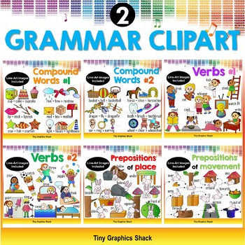 Grammar clipart english. Bundle