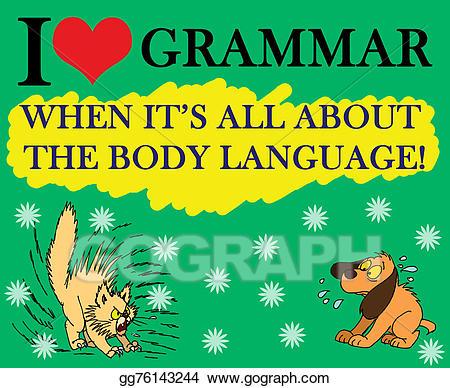 Stock i love illustrations. Grammar clipart illustration