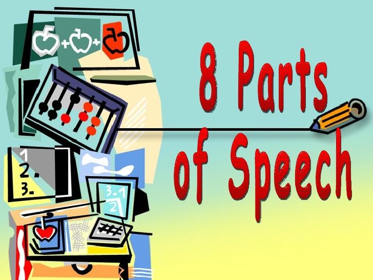 Parts of . Grammar clipart part speech