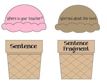 And sort writing . Grammar clipart sentence fragment