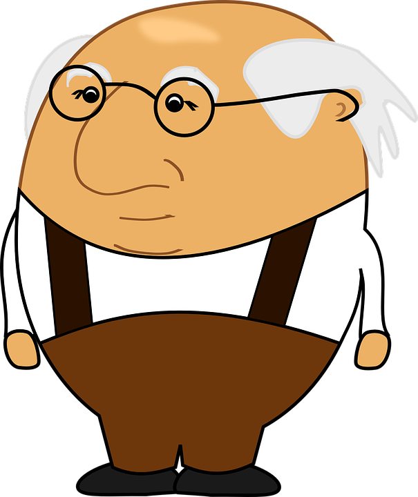Grandfather picture group free. Old clipart innocent person