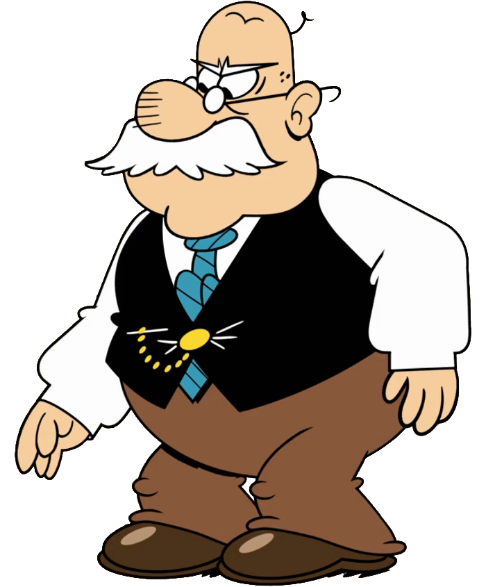 Old clipart grouchy. Mr grouse the loud