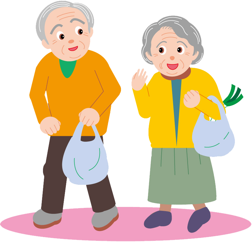 Old clipart aged person. Couple age drawing cartoon